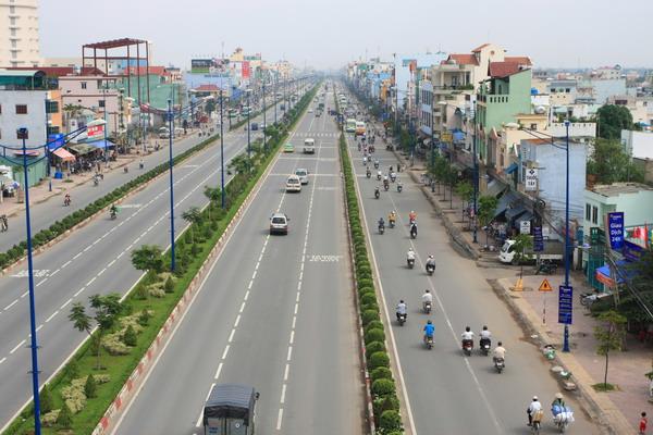 Tuyến đường Trường Chinh kết nối dự án thiên nam residence quận 12