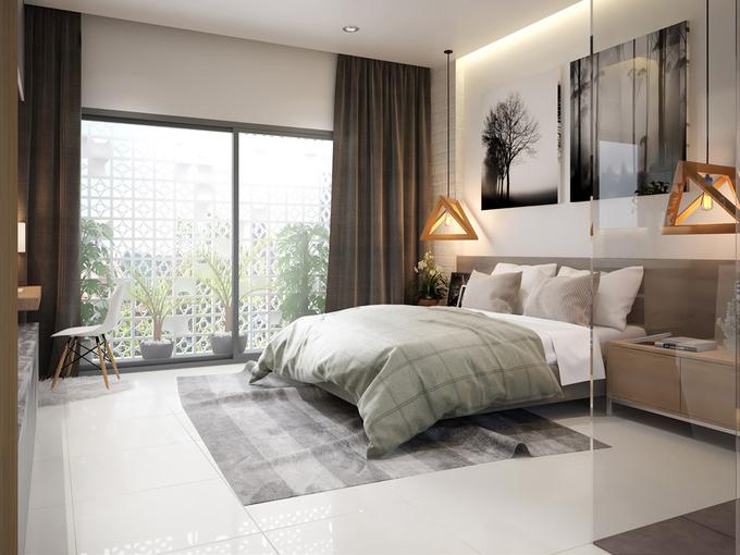 phòng ngủ trong nhà