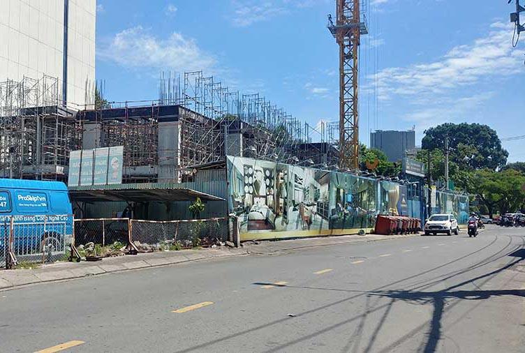 tiến độ xây dựng tháng 6 năm 2019