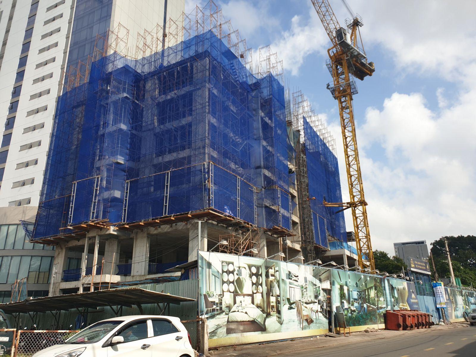 tiến độ xây dựng căn hộ park legend hoàng văn thụ
