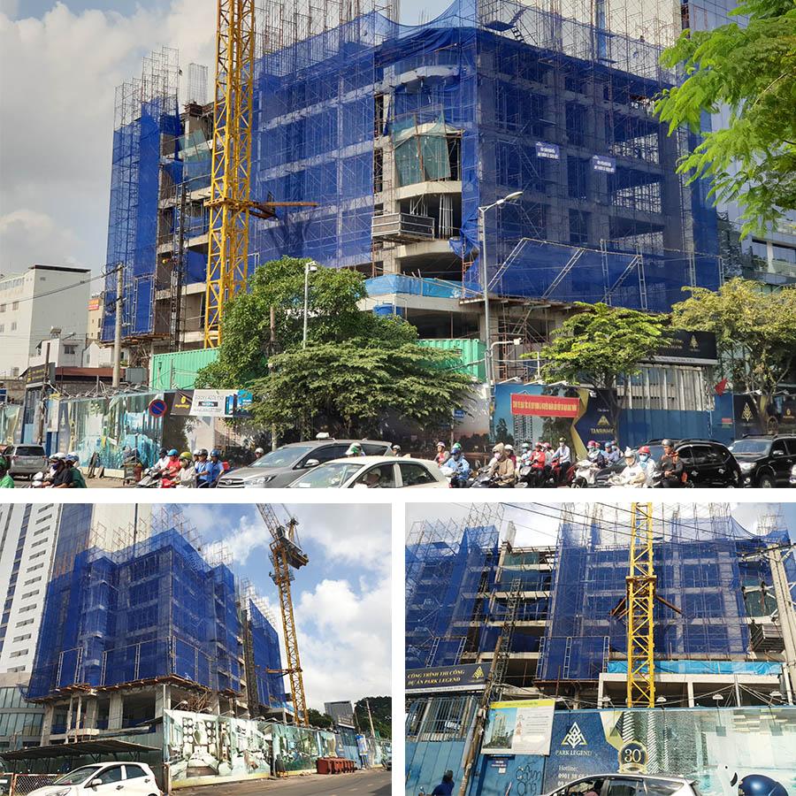 tiến độ xây dựng căn hộ park legend 251 hoàng văn thụ