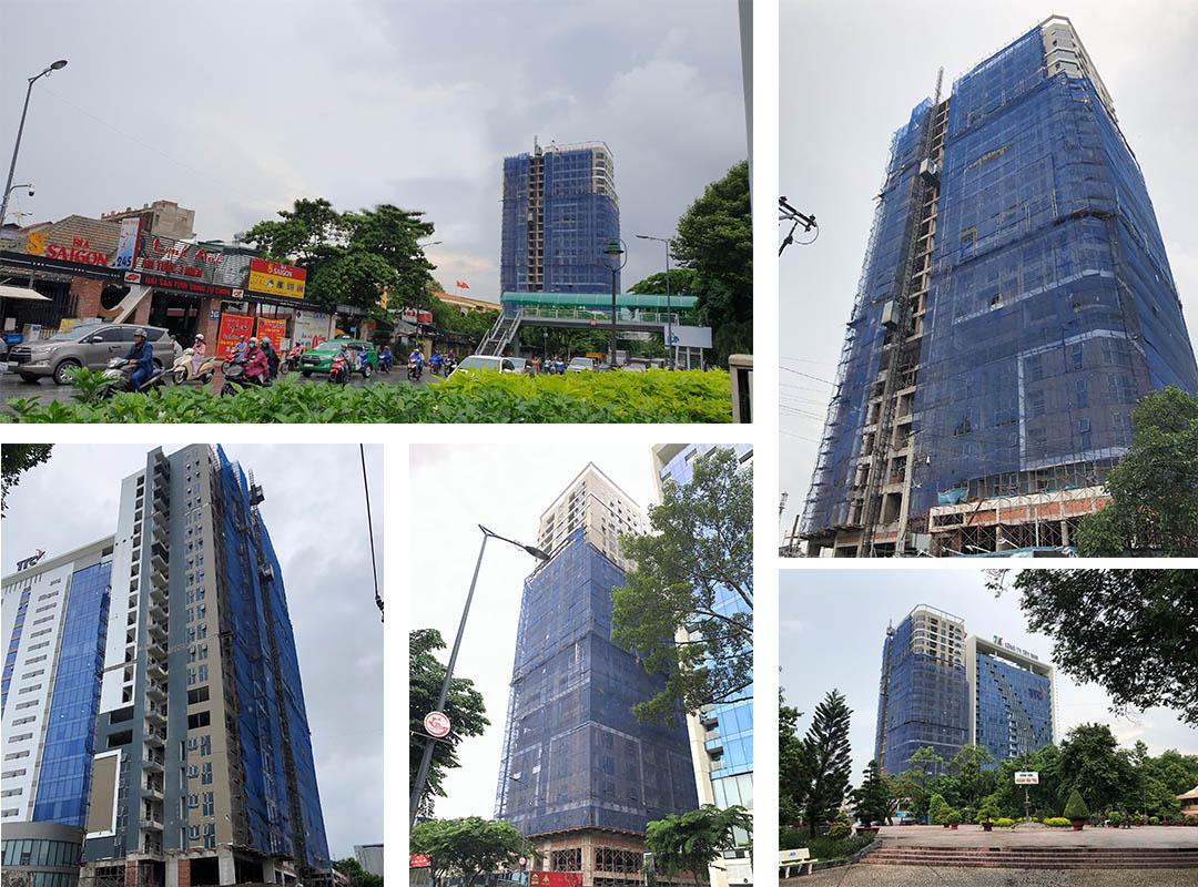 tiến độ xây dựng căn hộ park legend