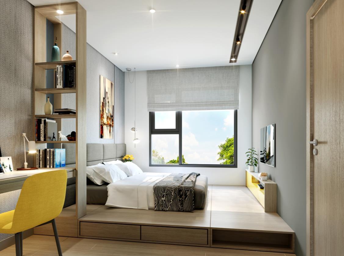 Nhà mẫu dự án căn hộ aio city bình tân