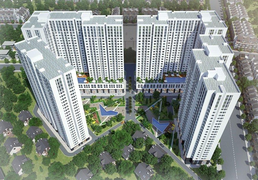 phối cảnh dự án Aio City Bình Tân