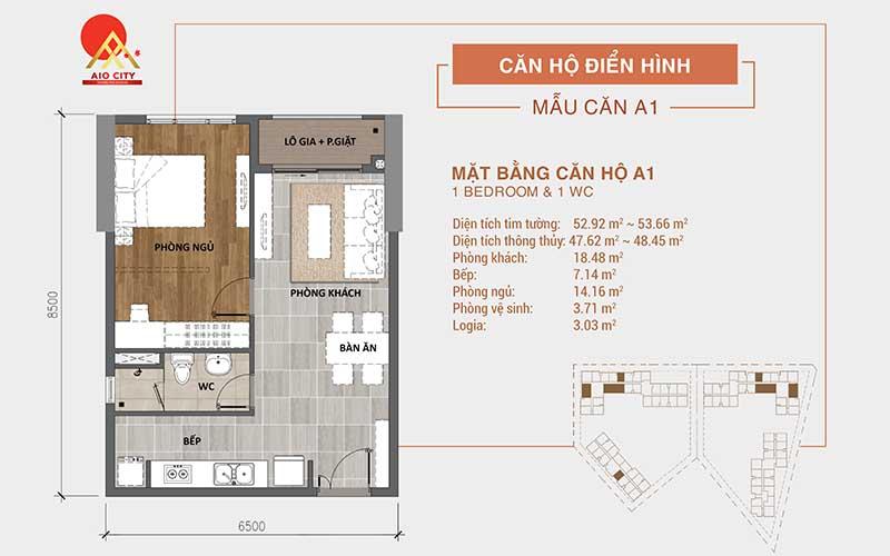 Thiết kế dự án Aio City Bình Tân