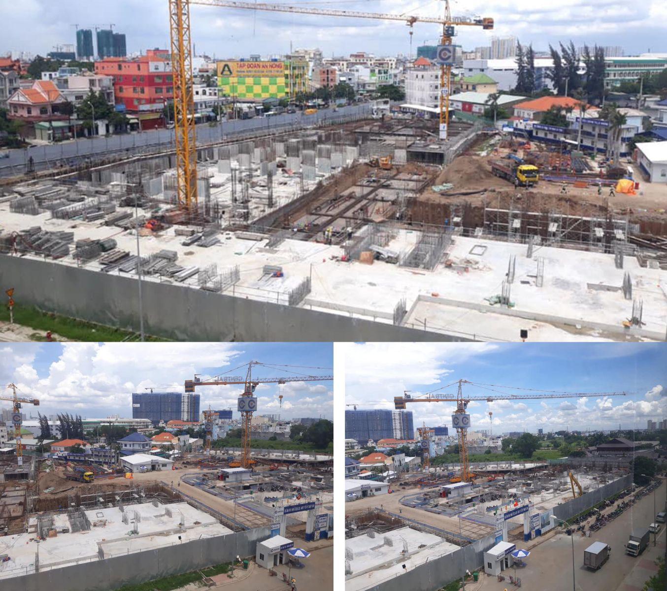 tiến độ xây dựng căn hộ Aio city bình tân thánh 8 năm 2019