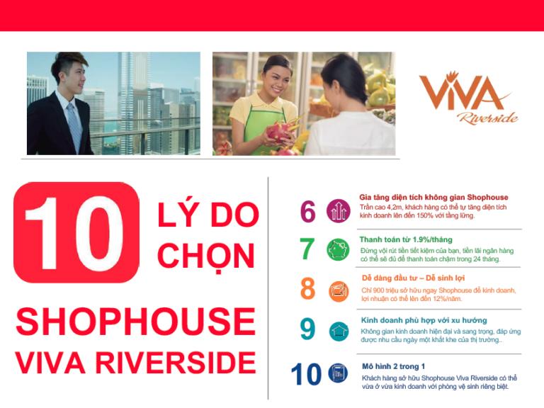 lý do lựa chọn viva riverside đầu tư