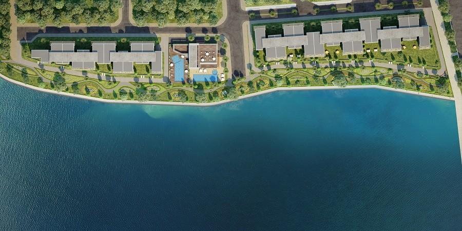 mặt bằng tổng thể 2 phân khu Jamona Sky X Villa