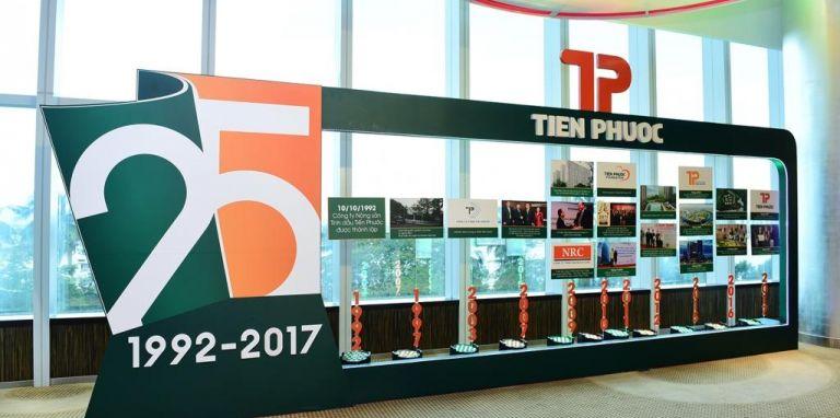 kỷ niệm thành lập 25 năm công ty tiến phước