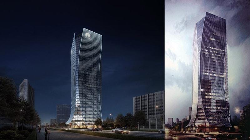 Dự án Alpha Town – Tòa nhà văn phòng hạng A cao 35 tầng