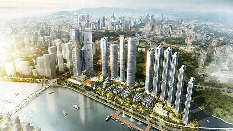 Phối cảnh dự án One Alpha Riverside District One của nhà đầu tư Alpha King.