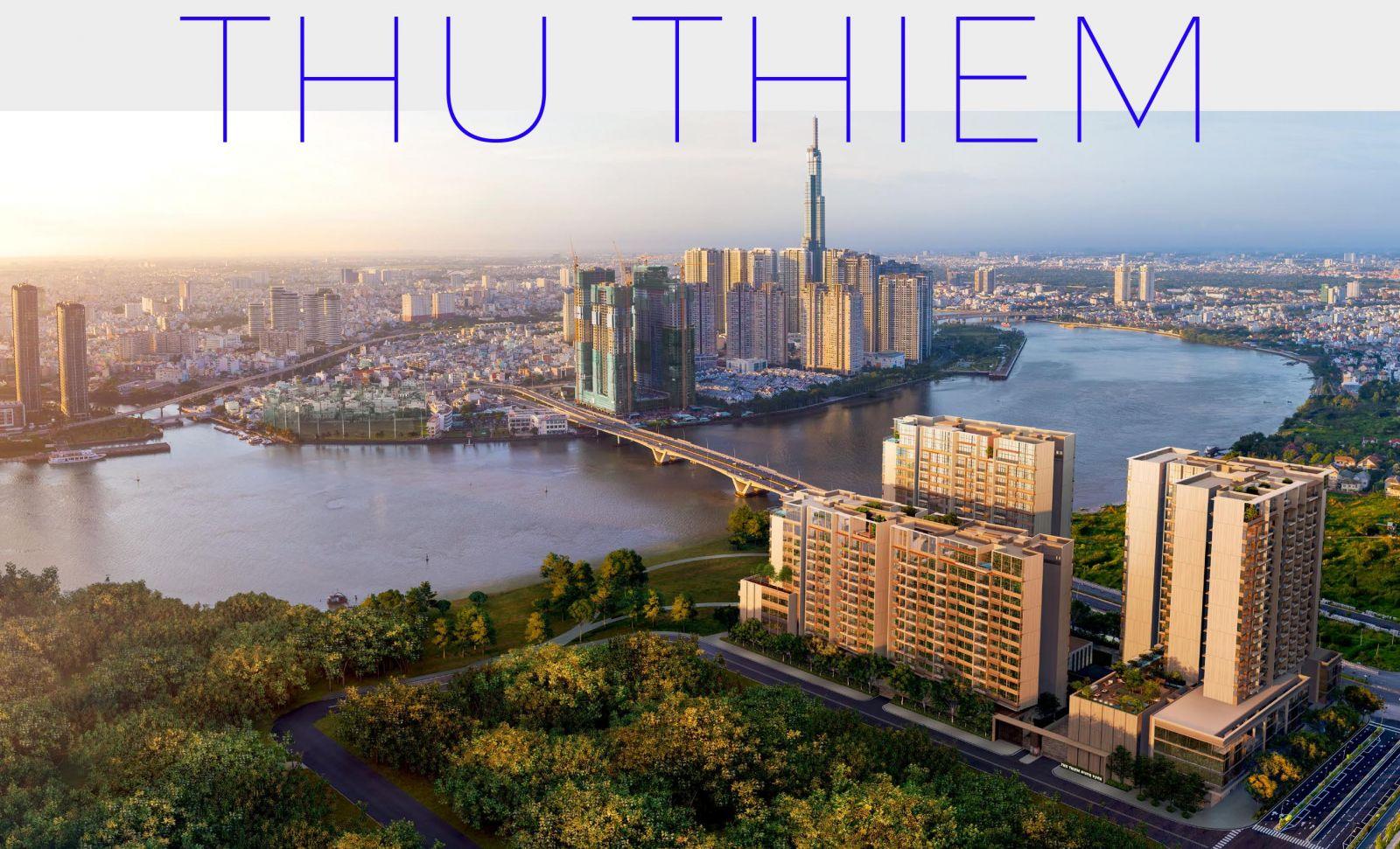 phối cảnh căn hộ the river thu thiem tapchiduan.net