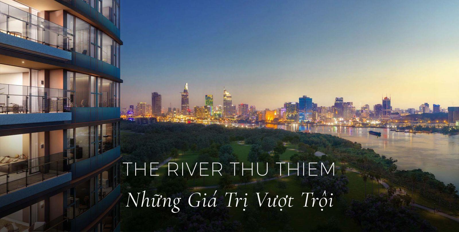 giá bán căn hộ the river thu thiem