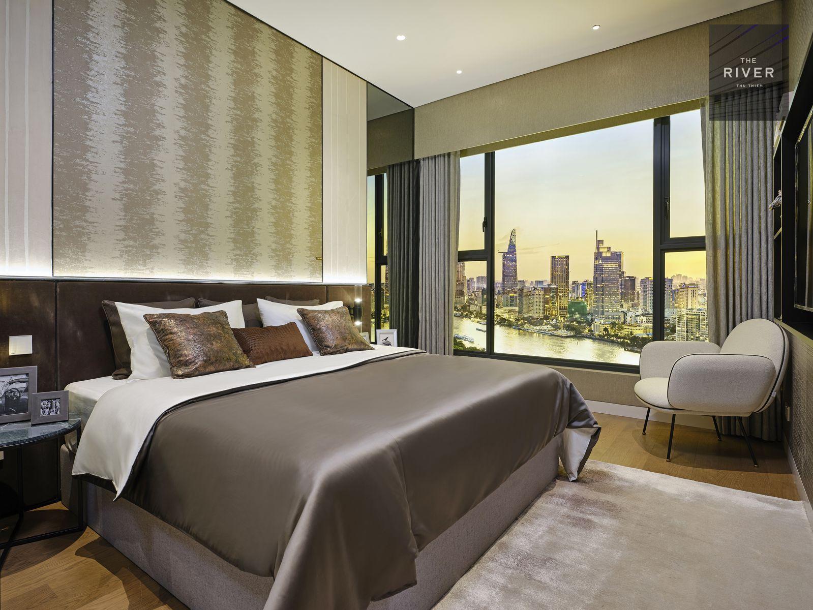 nhà mẫu căn hộ 1 phòng ngủ