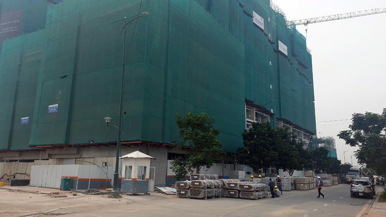 Cận cảnh căn hộ Poolvilla của Block Sence - The River lô 3.15 Thủ Thiêm tháng 5 năm 2021.