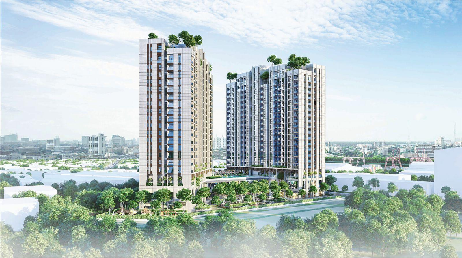 Phối cảnh dự án Asiana Riverside với sự bố trí thông minh tối ưu tầm nhìn cho tất cả căn hộ
