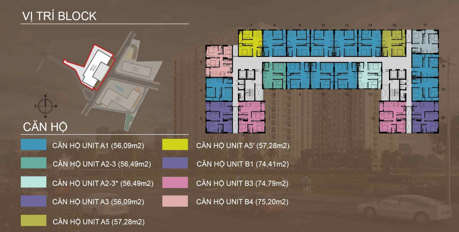 căn hộ imperial place block c