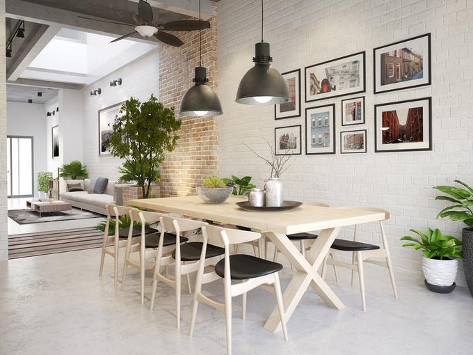 Thiết kế bếp và phòng ăn