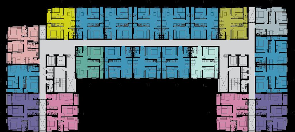 mặt bằng block C dự án imperial place