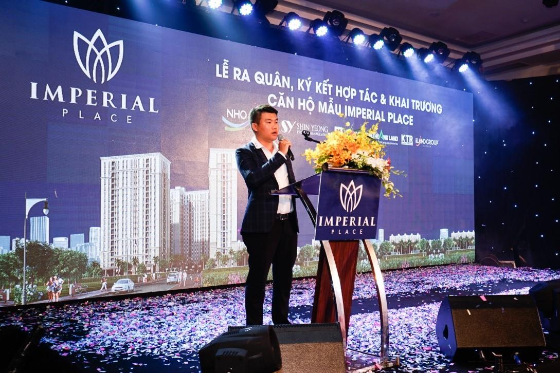 Đại diện Chủ đầu tư N.H.O, Giám đốc Phú Hoàng Land và Các Giám đốc Sàn liên kết