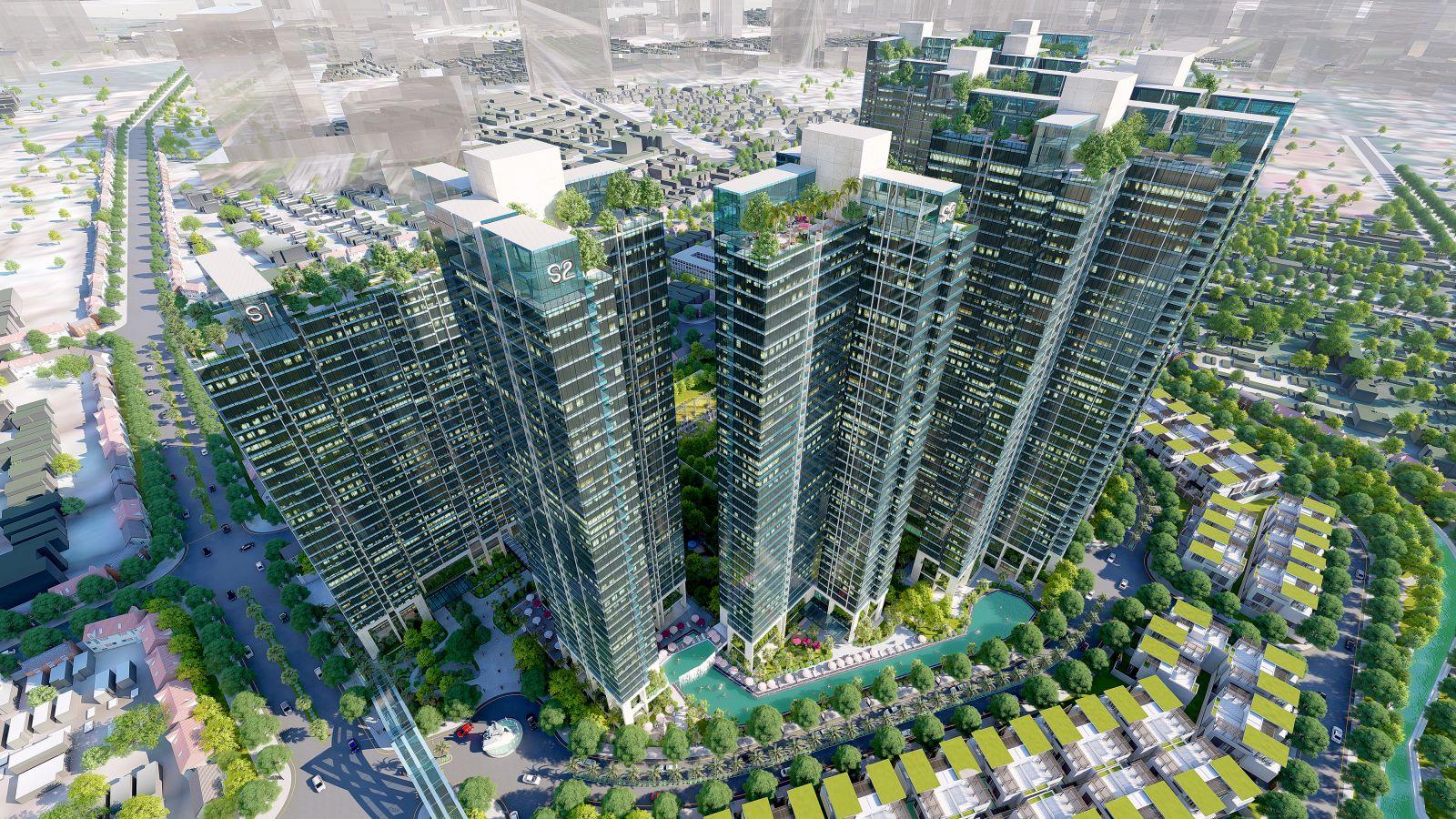 Sunshine City quận 7 sở hữu thiết kế xứng tầm đẳng cấp