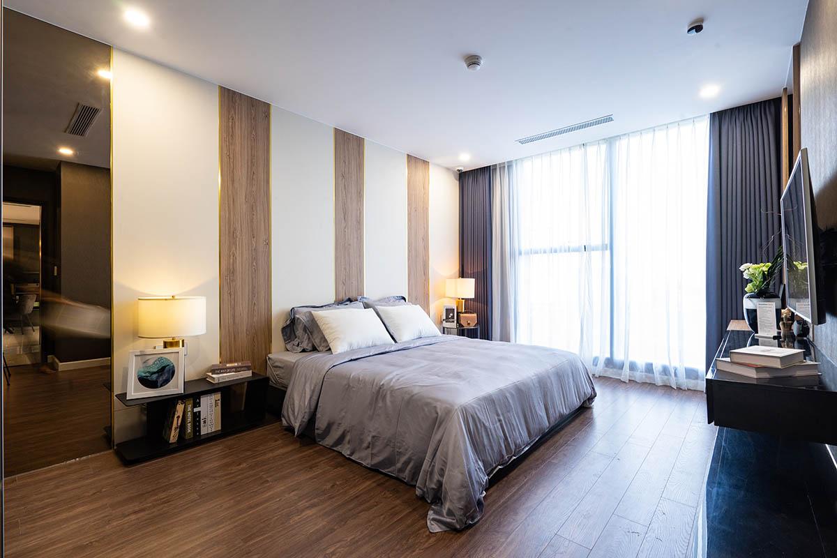 phòng ngủ nhà mẫu sunshine horizon quận 4