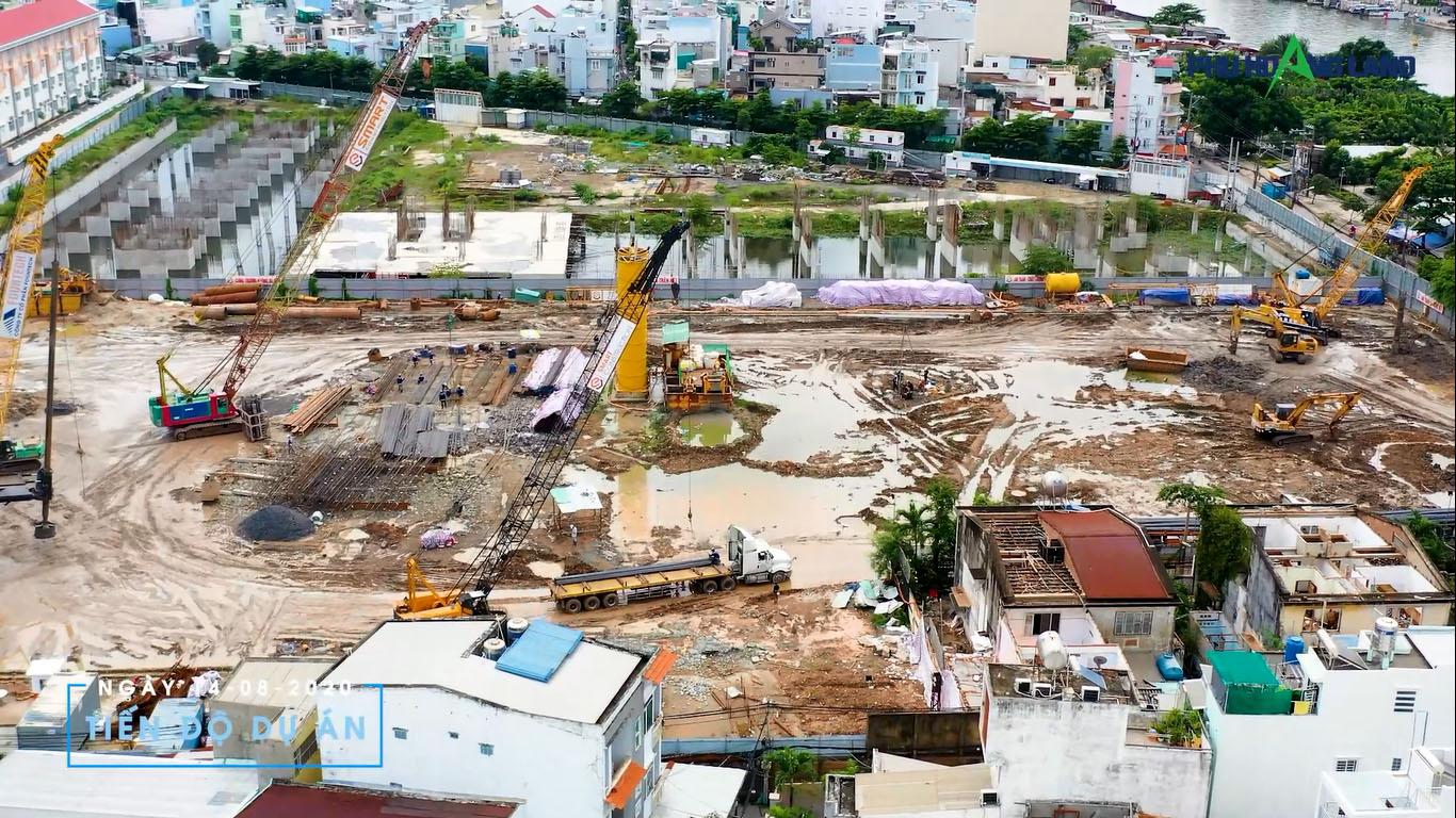 hình ảnh tiến độ xây dựng dự án căn hộ sunshine Horizon tháng 10 năm 2020
