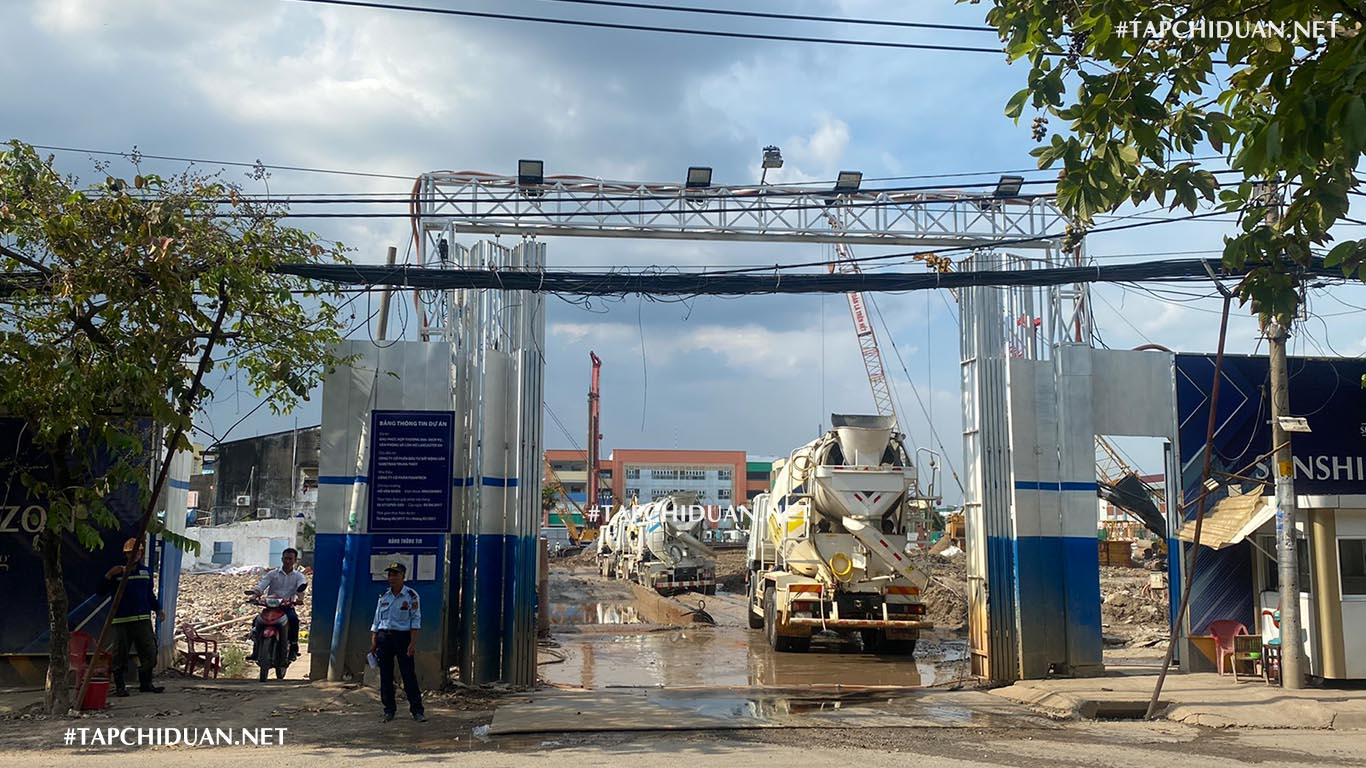 Hình ảnh tiến độ xây dựng dự án Sunshine Horizon Quận 4 của Sunshine Group