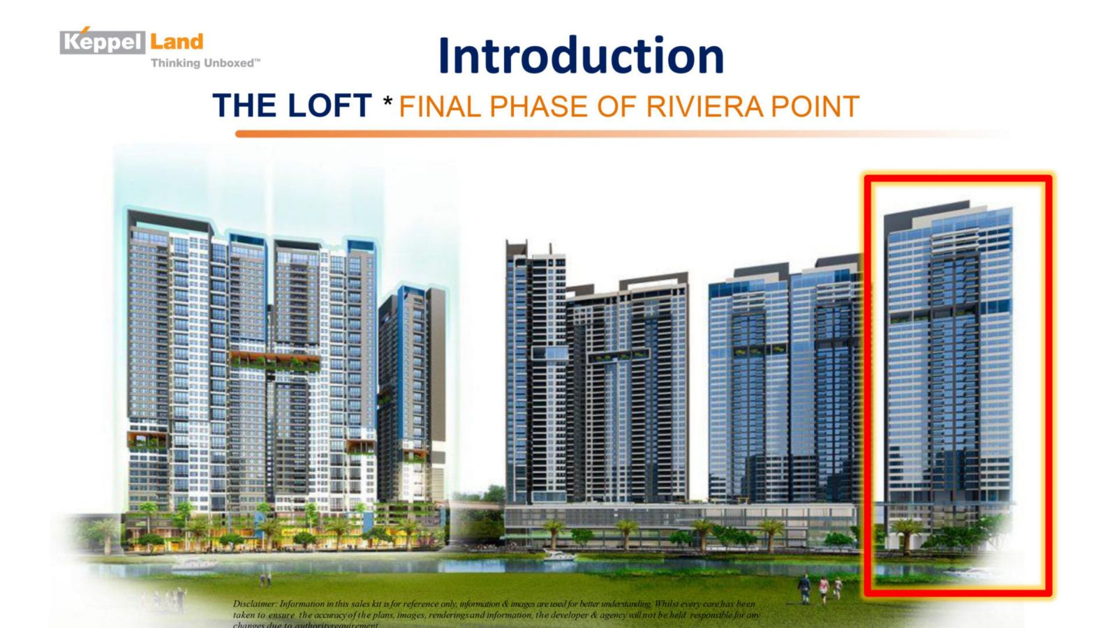 Handbook Project Information The Loft at Riviera Point District 7