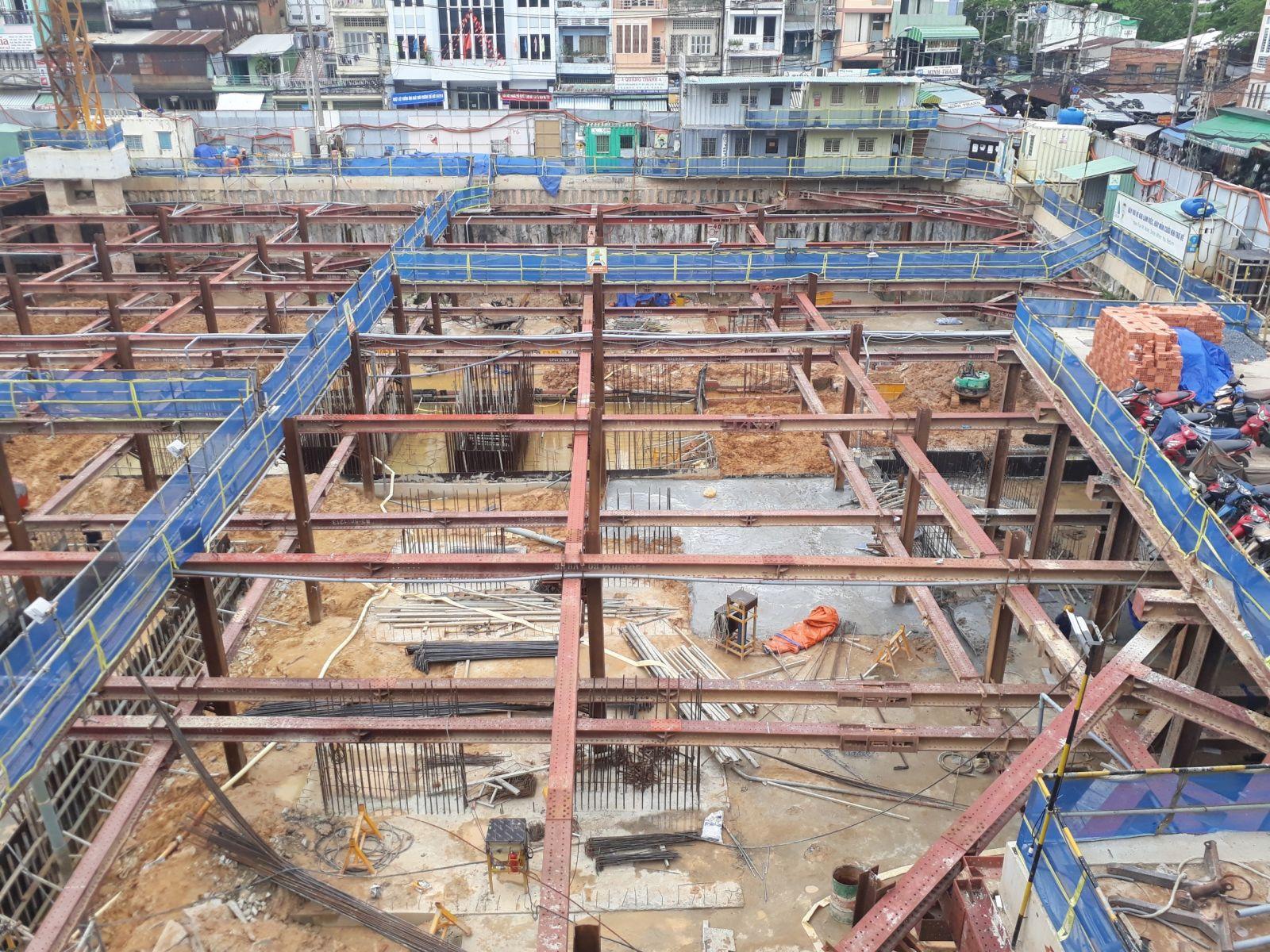 Tiến độ xây dựng căn hộ vetosa tan thanh quận 5