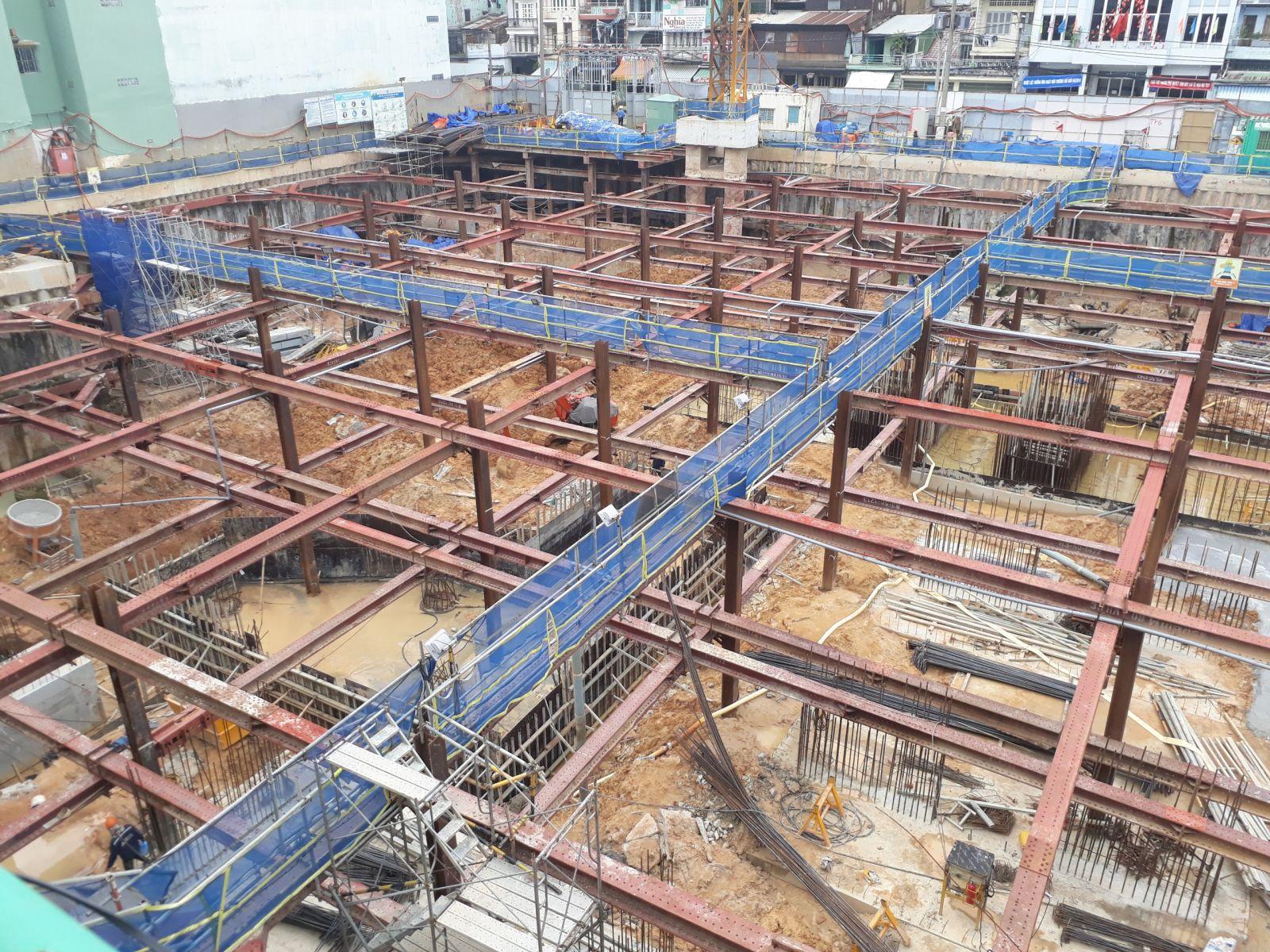 Tiến độ xây dựng căn hộ ventosa tan thành quận 5